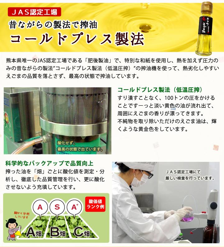 えごま油製法説明